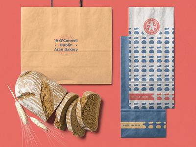 Aran Bakery Branding logo design bakery graphic design branding