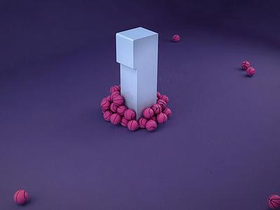 1 Dribbble invite!  minimal gif animation invitation new join draft draftee invite dribbble