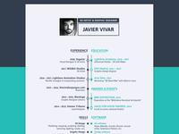 Personal resume 2018