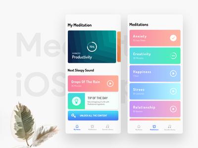 Meditation iOS App