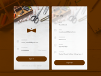 Tailoring Services Provider iOS App