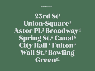 Mensch Typeface typeface design ball serif free font 70s serif type type design font letterform typeface