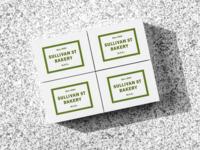 Sullivan Street Bakery Boxes coffee logotype box cafe logo restaurant bakery logo branding visual identity design