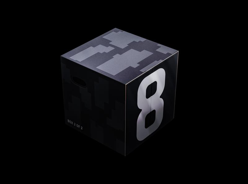 Eight Sleep Packaging design print design branding sports digital futuristic packaging product design