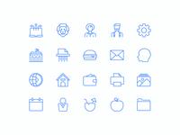 Sleekons Minimalistic Icons