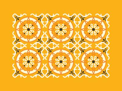 Vietnamese floor tiles
