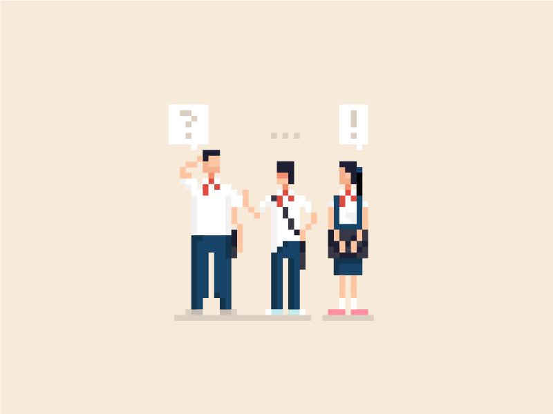 Kính Vạn Hoa pixel pixel art 90s