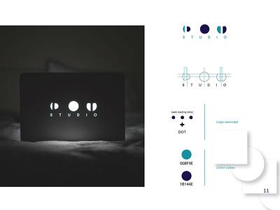 Dot Logo wordmark brand design icon typography vector design logo minimalist logo branding