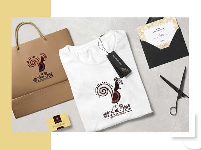 Nakshi Kantha Clothing Brand bangla font bangla logo bengali tshirt boutique cloth logo design graphic design brand identity fashion logo clothing brand design versatile logo logo branding