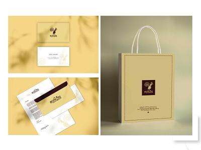 Fashion Logo Branding envelope design business card dress bag brand identity packaging packet illustration branding logo versatile logo boutique logo fashion logo fashion