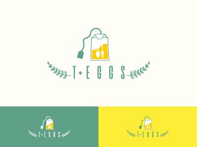 break-fast logo logo design teabag tea bag logo illustration brand identity restaurant logo food logo design versatile logo logo branding egg logo tea logo breakfast logo