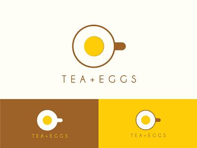 Breakfast logo logo design brand identity restaurant logo food logo design versatile logo logo branding morning logo morning egg logo egg tea breakfast breakfast logo
