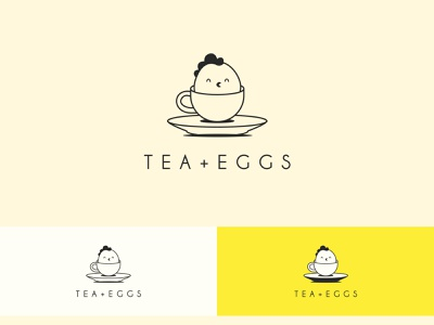 Breakfast minimal logo logo design brand identity restaurant logo food logo design versatile logo logo branding tea cup cup egg tea chicken chicken logo line logo minimal logo breakfast logo