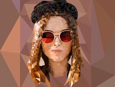 Low poly ux illustrator art flat animation minimal ilustrations design vector illustration