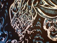Silkscreen aliens vox nihilis 2013 01 17