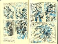 Gojira sketch001