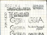 Gojira sketch003