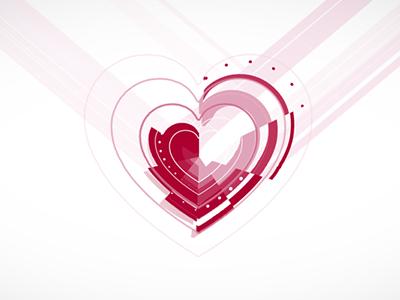 valentine  animation design motion graphics