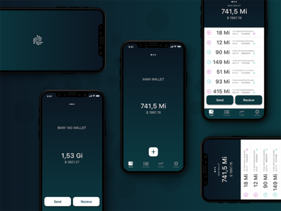 Trinity Wallet mobile app graphic
