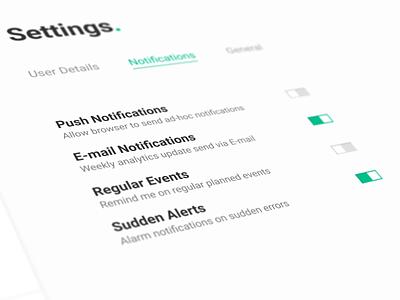 lidbot.analytics // settings panel ui analytics platform wastemanagement iota dlt