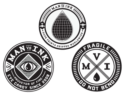 Man vs Ink Packaging