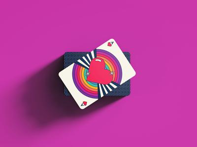 Playing Card - Rebound for #dribbbleweeklywarmup