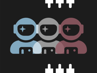 """Cosmos Connected"" – Icon (Dark) illustrator vector web logodesign graphic flat design minimal logo icon art graphic design graphicdesign"