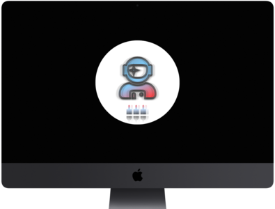 """Space Plug"" – Online art web minimal logo icon graphic flat design graphic design imac mockup astronaut plug space"