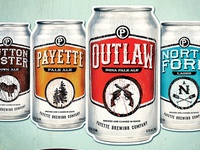 Payette Brewing - Can Design & Print Ad
