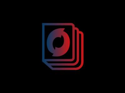 Onooks Logo (Black Design) icon vector design minimal logo web illustrator illustration graphic design branding