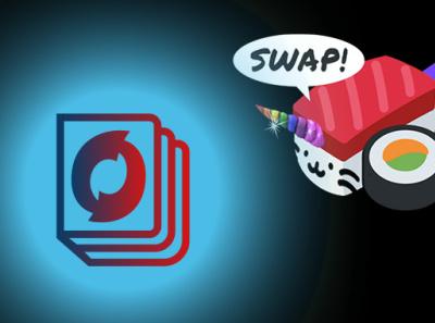 Onooks Live Trading on Sushiswap illustration defi sushiswap ooks onooks bitcoin design graphic design