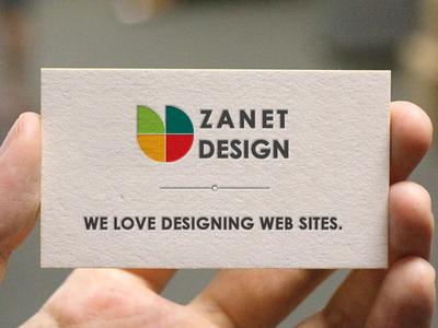 Zanet Rebound rebound rebrand business card card emboss letterhead business corporate embossed brand