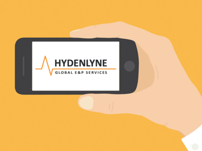 Hydenlyne Logo branding logo design hydenlyne seismic web design style guide rebranding clean flat