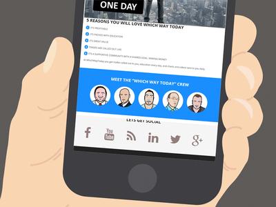 Hand held device portfolio work zanet design website webdesign flat mobile responsive layouts clean branding