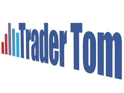 Trading Logo for Trader Tom trader trading logo bar chart stock market stockmarket index traders