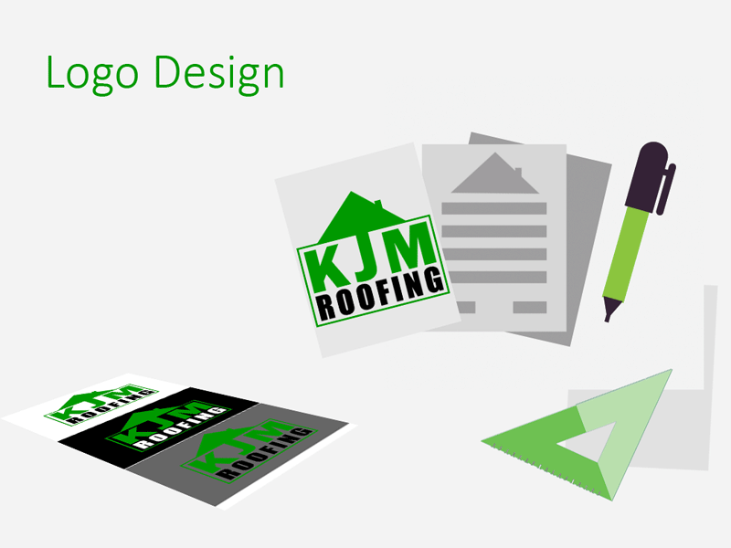 Zanet Logo Design for Roofing company zanet designer flat icon photoshop webdesign branding roofer logo design roofing design logo bournemouth