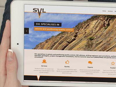 Svl slider 2 mobile devices flat iconic logo web design logo design mock seismic design slider