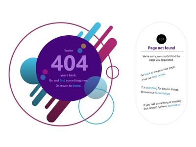 404 - error page 404 error page 404 web design inspiration dribbbleweeklywarmup
