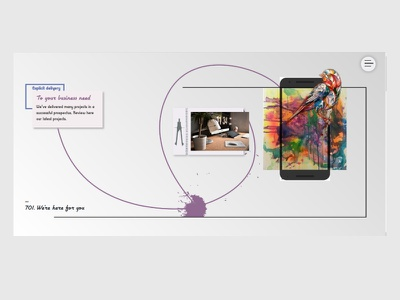 personal agency website design website webdesign web ui design inspiration
