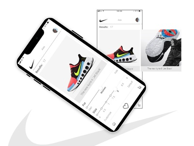 Nike app redesign typography branding product design mobile app design app home page fresh design mobile ui mobile app mobile inspiration ui ux nike app redesign app ios