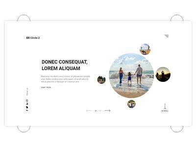 BR Circle 2 - Landing Page Design design agency travel inspiration landing page website design website webdesign web