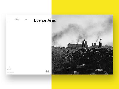 Aldo Sessa - Album 5 (concept) landing page ui helvetica concept web design photography swiss minimal typography ux layout