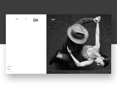 Aldo Sessa - Album 6 (concept) landing page ui helvetica concept web design photography swiss minimal typography ux layout