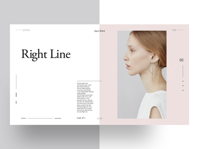 Agata Bieleń — Upcoming Freebie — 1 magazine fashion garamond freebie layout grid golden ratio typography graphic design template fibonacci