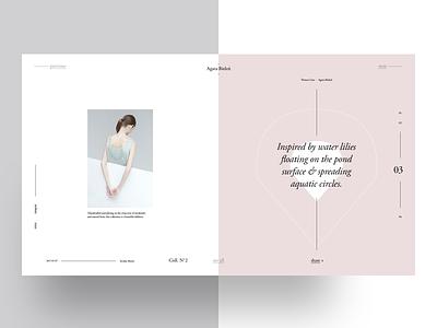 Agata Bieleń — Freebie — 1 fibonacci template graphic design typography golden ratio grid layout freebie garamond fashion magazine
