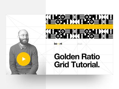 Golden Ratio Grid Tutorial freebie layout grid golden ratio helvetica typography graphic design template fibonacci