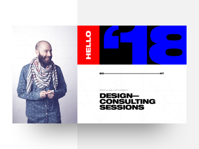 Announcing Design Consulting Sessions coaching advice mentoring graphic design typography geometric square layout helvetica golden ratio grid