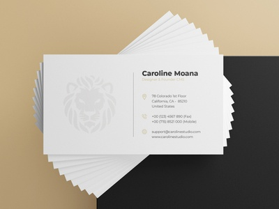 Business Card Design | Minimalist | Elegant dribbble branding illustration design catalogue freelance company presentation cards ui card design business card businesscard business layout minimalist dribbbble