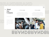 presentation templates with about us