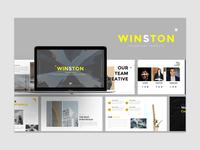 WINSTON - Contruction presentation template